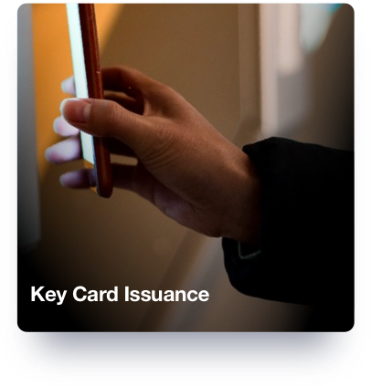 Key Card Issuance